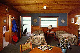 Alaska Fishing Lodge Luxury Cabin Interior